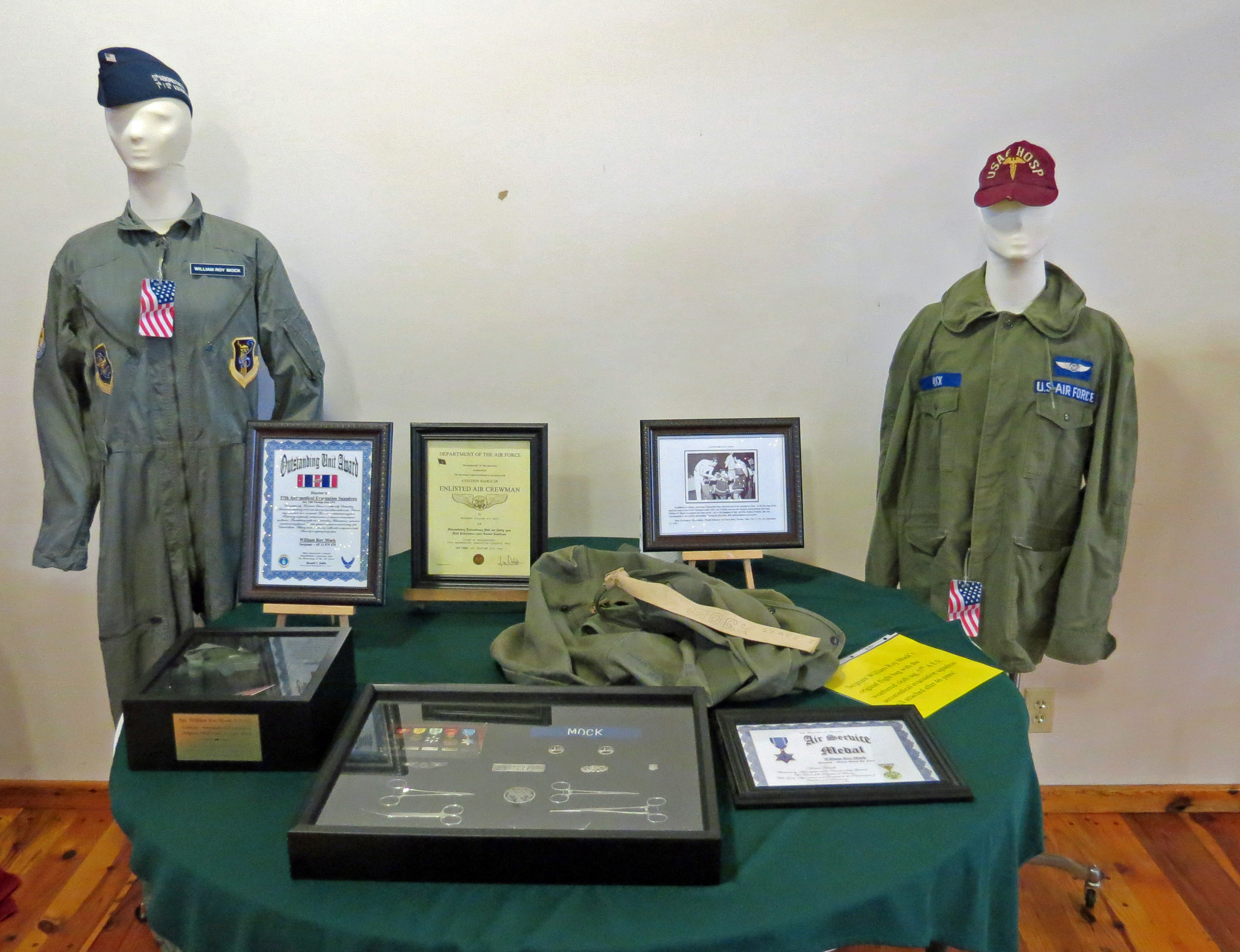 Items On Display