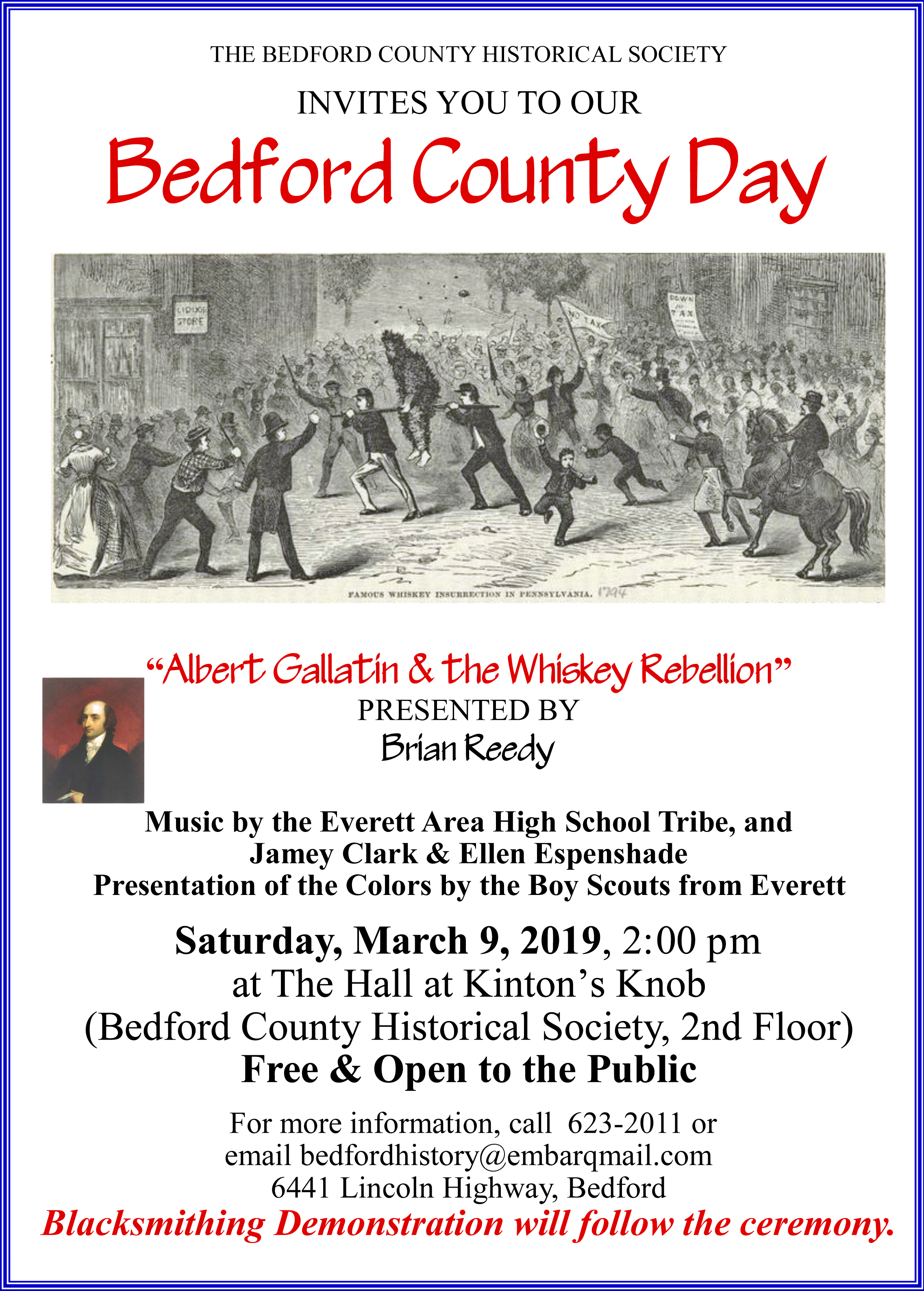 Bedford Co Day Poster 2019