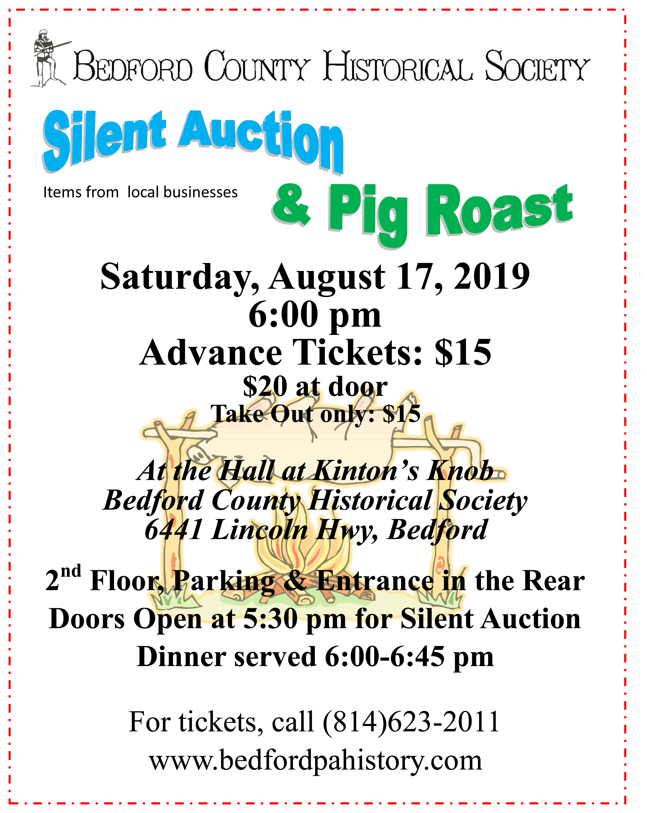 Silent Auction and Pig Roast