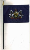PA Stick Flag - 4 x 6 inches
