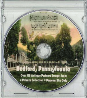 Old Bedford County Postcards CD
